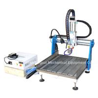 Wholesale Gantry Moving Desktop Aluminum CNC Router Machine with DSP A11E Offline Control from china suppliers