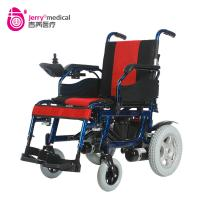 Buy cheap Aluminum Alloy 16 Inch Fold Indoor Electric Wheelchair Self Braking Wheelchair from wholesalers