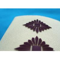 Quality High Density Custom Clothing Patches , Heat Transfer Printing for Cotton Fabric Uniform for sale