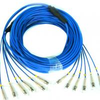 Wholesale Single Mode / Multimode Fiber Patch Cable Electronic Link Fiber Optical Pigtail from china suppliers