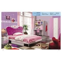 Wholesale Children bedroom furniture girls bedroom furniture princess pink bed model 805 from china suppliers