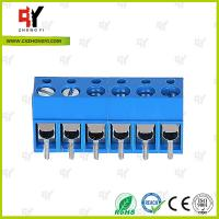 Wholesale HQ300-5.0 PCB Terminal Block 5.0 Wire Range 22- 14 AWG , Connector Terminal Block from china suppliers