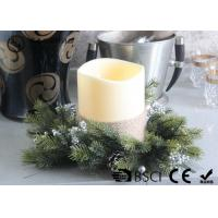 Wholesale Advent Wreath Led Candles , Battery Operated Advent Candles D15X20CM from china suppliers