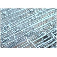 Wholesale Cattle 12 Gauge Barbed Wire Fence Hot - Dipped Galvanized With Single Strand from china suppliers