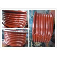 Wholesale Red Lebus Grooved Drum Without Flanges / Cable Winch Drum For Lifting from china suppliers