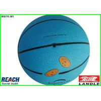 Wholesale Personalized Standard Size Blue Basketball Training Ball for High School from china suppliers