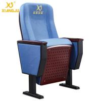 Wholesale Folding Retractable Patent Design Church Auditorium Seating With Hole Painted Seat from china suppliers