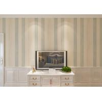 Wholesale Vertical Striped Interior Room Wallpaper, Custom Living Room Striped Wallpaper from china suppliers