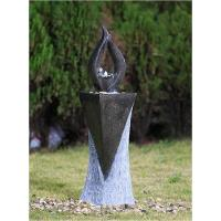 Quality 39 Inches Torch Copper Garden Fountain For Home , OEM Acceptable for sale