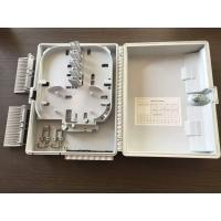 Quality IP65 White  Optical Network Components , optical termination box 16 Port for sale