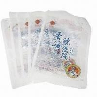 Quality Three-side Sealed Food Packaging Bag with Free Design, Easy to Tear Open for sale
