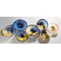 Wholesale Murano Glass Flowers Decorative Glass Plates from china suppliers