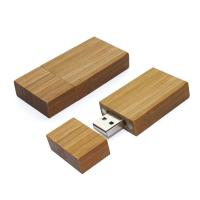 Wholesale 4GB Wooden USB Flash Drives with Laser-Engraving Logo from china suppliers