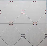 Wholesale Office Aluminium Square Profile Corrosion Resistance / Replacement Metal Ceiling Tiles from china suppliers