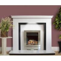 Wholesale Polar White Marble Fireplace from china suppliers