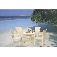 Wholesale Stylish Elegant UV Philippine Dining Table Set Indoor / Outdoor Furniture for Living Room , Hotel from china suppliers