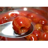 Wholesale Fresh Red Hawthorn Tropical Canned Fruit In Natural Juice No Preservatives from china suppliers