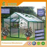 Wholesale 406 X 306 X 244CM Green Color 10MM PC Titan Series Aluminum Greenhouse from china suppliers