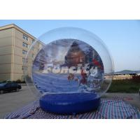 Wholesale Customized Theme Inflatable Snow Globe for Christmas / Halloween With PVC Material from china suppliers
