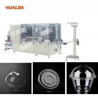 Wholesale 380 V Plastic Lid Making Machine , 50 HZ Thermoforming Cup Making Machine from china suppliers