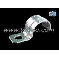 Wholesale Zinc Plated Steel IMC Conduit Fittings Pipe Clamp One Hole Strap from china suppliers