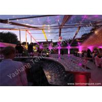 Quality Grassland Clear PVC Fabric Cover Aluminum Profile Luxury Wedding Tents Buildings for sale