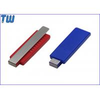Buy cheap Colorful Plastic Cool Tie Clip 4GB Flash Drives Key Disk Memory from wholesalers