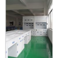 Wholesale PP Lab workBenches and Cabinetes With Reagnent Shelf,PP lab Water Faucet from china suppliers
