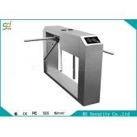 Wholesale Access Control Device  Waist Height Turnstiles  High Security Pedestrian Entry System from china suppliers