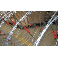 Wholesale Custom Security Single Coiled Razor Wire High Protection Neat Appearance from china suppliers