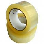 48mm Dark Brown BOPP Packaging Tape Pressure Sensitive High Adhesive