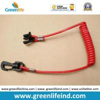 Wholesale Custom End Hook/Key Floating Ultra Watercraft Elastic Lanyard Tether from china suppliers