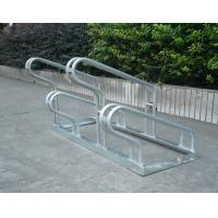 Wholesale 1050mm  *  530mm * 440mm Outdoor Low Carbon Steel Bike Stand For 4 Bikes One /  Two Sides from china suppliers