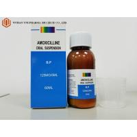 Wholesale Western Medicin Antibiotic Amoxicillin Oral Suspension Medicine 60ml B.P./100ml Sensitive Bacteria from china suppliers