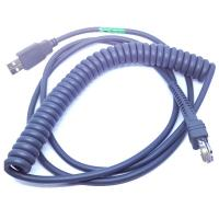 Wholesale 15ft Coiled USB Barcode Scanner Cable for Symbol LS2208 from china suppliers
