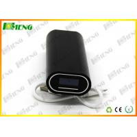 Wholesale 2×18650 Liion Battery Charger Black With Input / Output Port Power Bank from china suppliers