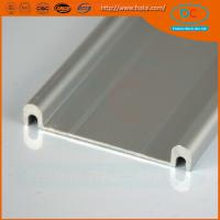 Wholesale 6063 Champage brush aluminum window profile, Matt aluminum window section, window profile from china suppliers