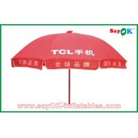 Wholesale Advertising Red Sun Umbrella from china suppliers