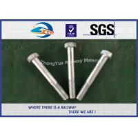 Wholesale DIN931 / DIN933 ASTM BS GB Standard Hot Dip Zinc Custom Railway HEX Bolt from china suppliers