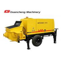 Wholesale Truck Mounted Concrete Pump , Construction Building Concrete Mixer Pump Truck from china suppliers