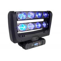 Wholesale Double Row Spider Led Light RGBW 8pcs 10 Watts LED Moving Head Light from china suppliers