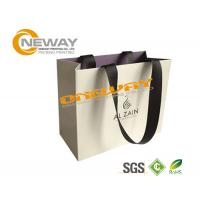 Wholesale Cute Hair White Paper Bags With Handles For Shopping , Paper Carrier Bags from china suppliers