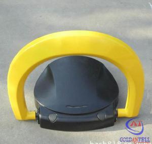 Buy cheap IP65 Waterproof A3 Steel Car Parking Locks In Middle East Orange Red Black Color from wholesalers