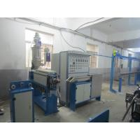 Quality Hdpe Pipe Cable Extrusion Machine With 0 - 200 M / Min Traction Speed ISO9001 for sale