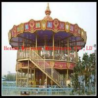 Wholesale double deck carousel two floor merry go round for sale from china suppliers