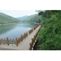 Wholesale Waterproof Hollow Wood Plastic Composite Railing / Balcony Balustrade from china suppliers