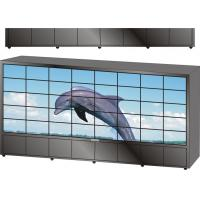 Quality 42 Inch LED Broadcast Video Wall Studio Background System With RS-232 for sale