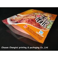 Wholesale Custom Meat Packaging Retort Pouch / Heat Sealable Pouch Food Grade For Sauce from china suppliers