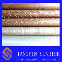 Wholesale Shiny Decorative Leather For Furniture Upholstery Environmental Protection Household Leather from china suppliers