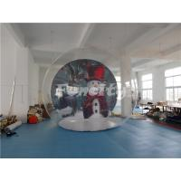 Wholesale Customized Inflatable Bubble Tent With Halloween Theme Background  For Camping Party from china suppliers